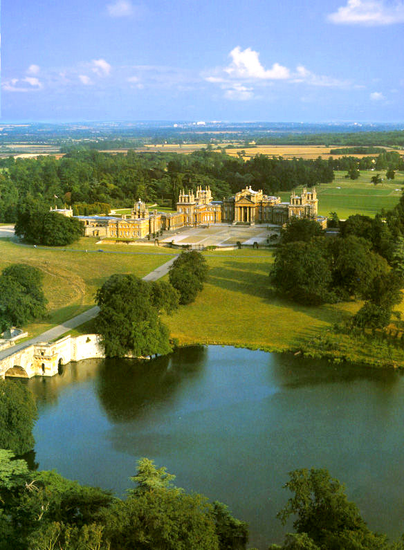 Blenheim Palace home of the