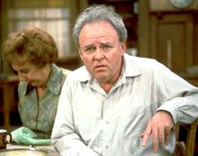 (picture  of Carroll O'Connor as Archie Bunker)