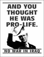 And you thought he was pro-life