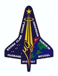 Columbia mission patch